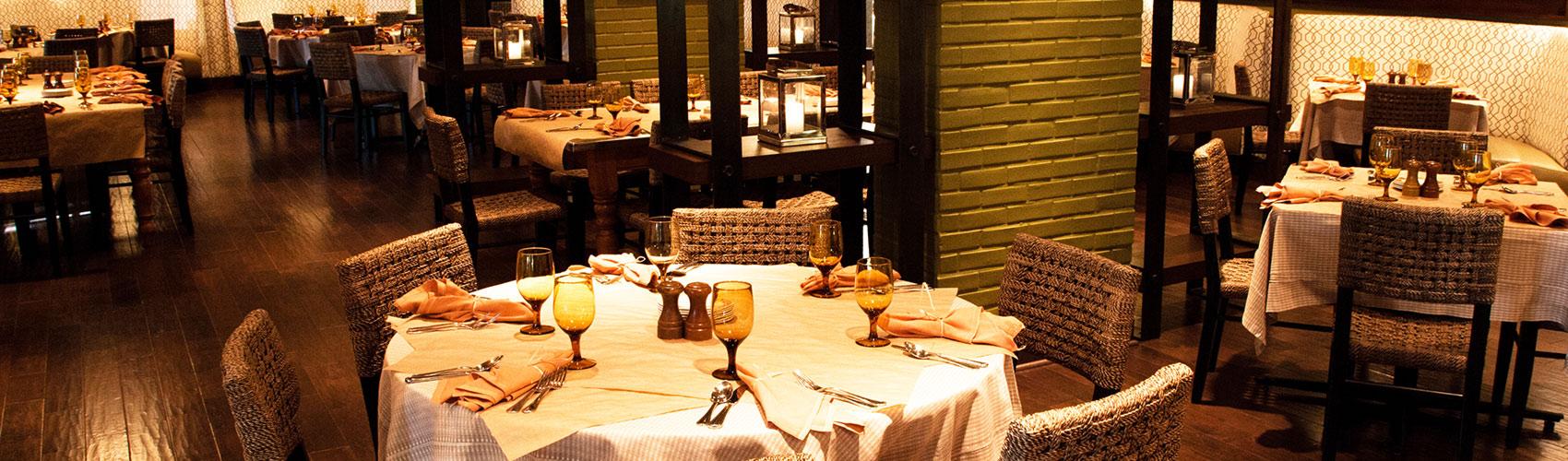The Italian Restaurant main room