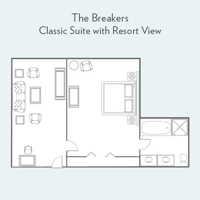 Classic Suite floor plan