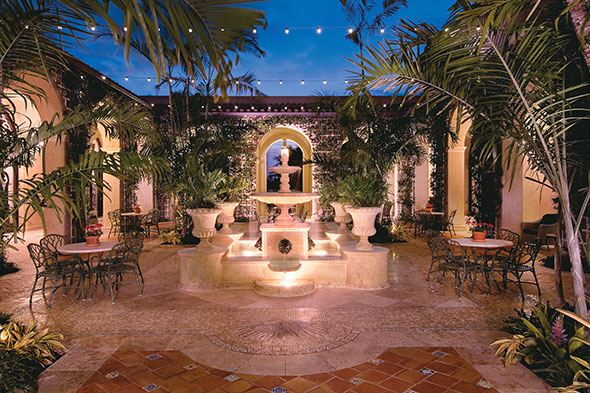 Palm Courtyard