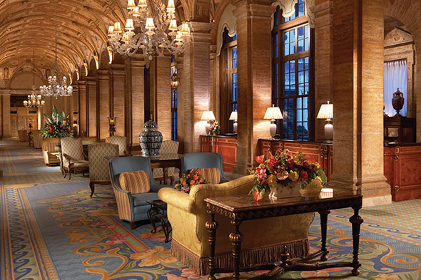 The Breakers lobby