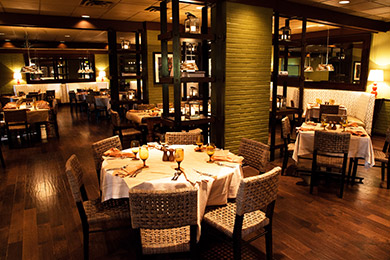 The Italian Restaurant dining room