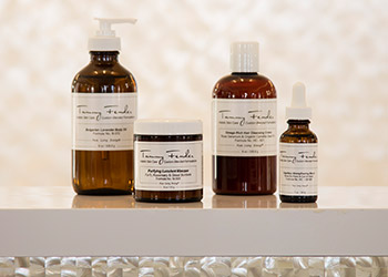 Tammy Fender skincare products