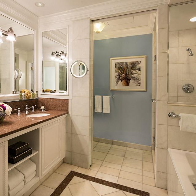 Atlantic Guest Room bathroom