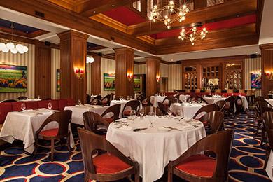Flagler Steakhouse dining room