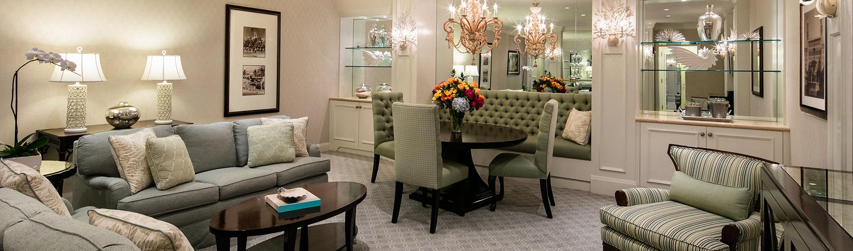 Executive Suite sitting area