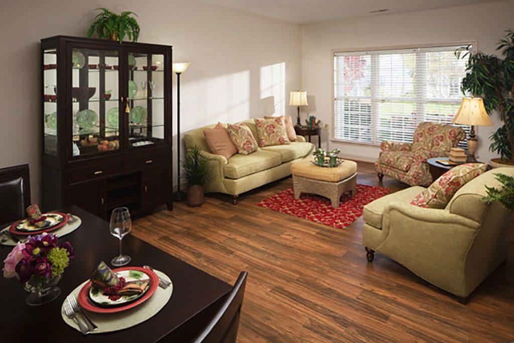 Senior apartment living room 2