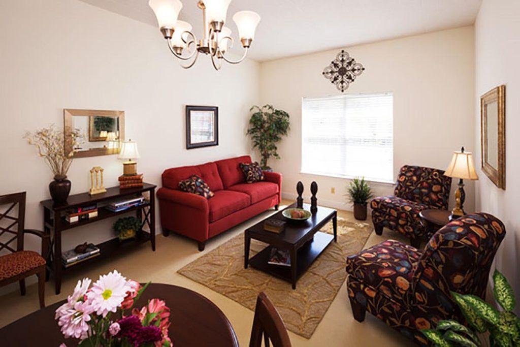 Senior Apartment Living Room