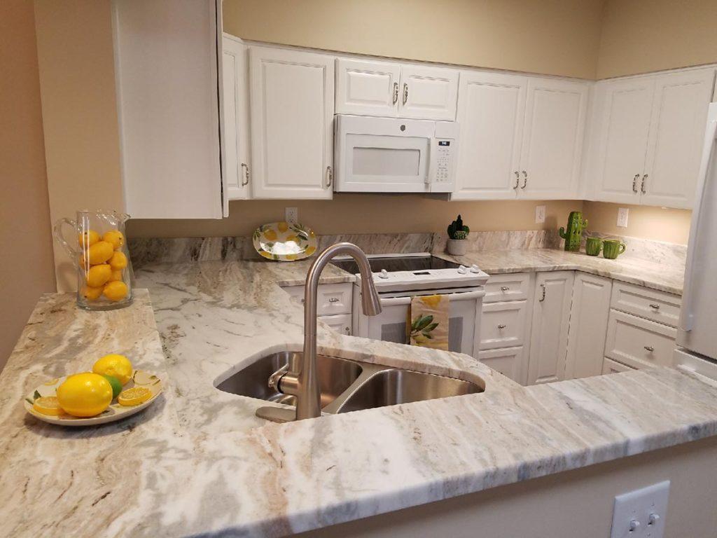 Newport News Residence Apartment Kitchen