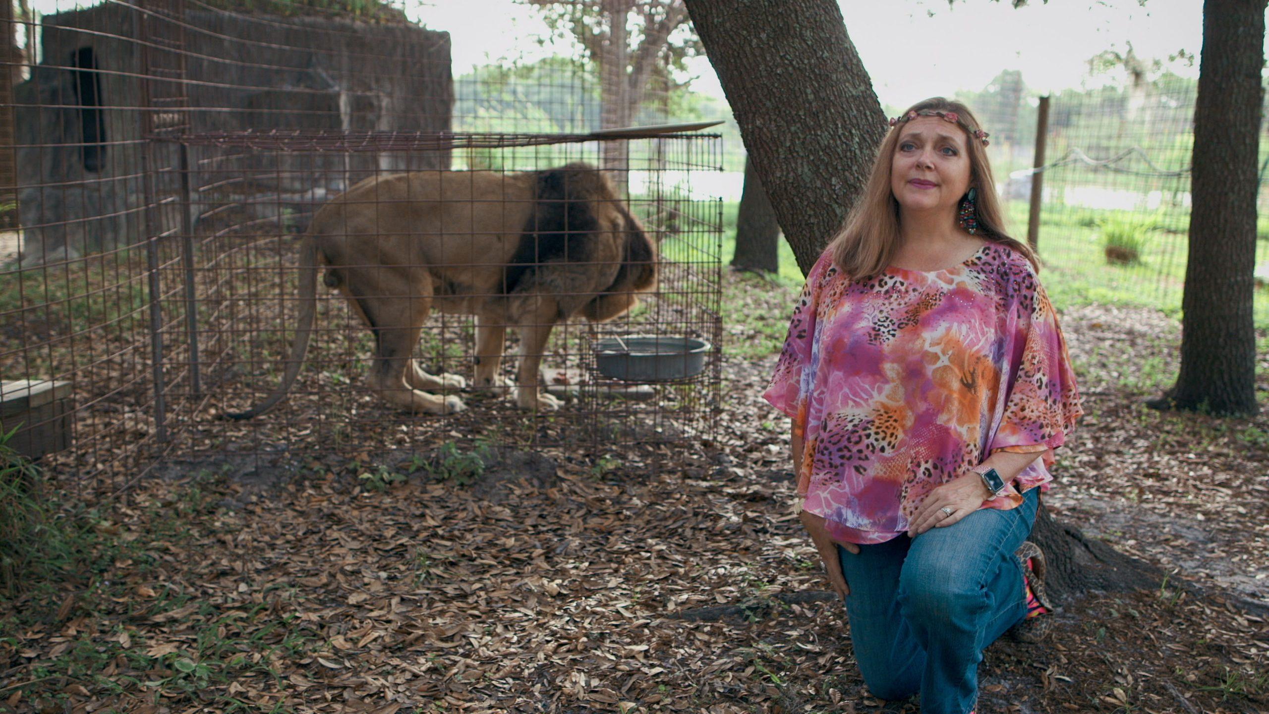 Carole Baskin, CEO of Big Cat Rescue.