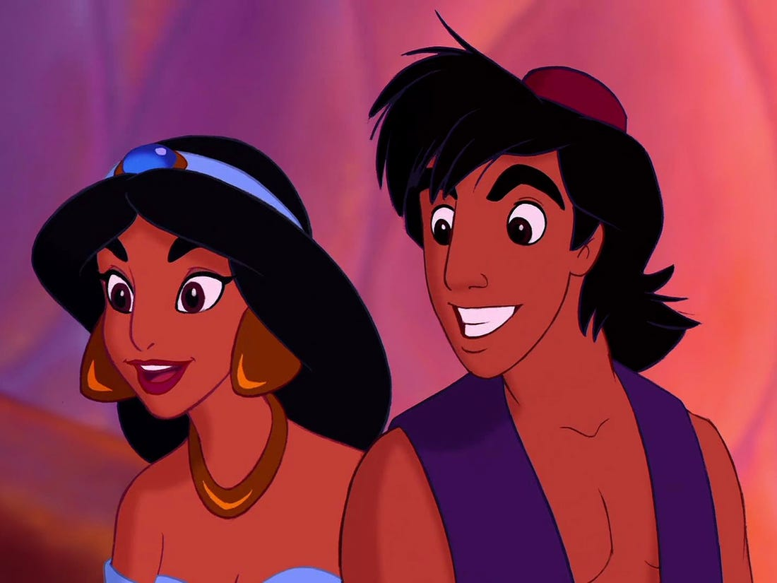 "Song Saviors: Disney's Aladdin song ""A Whole New World."""