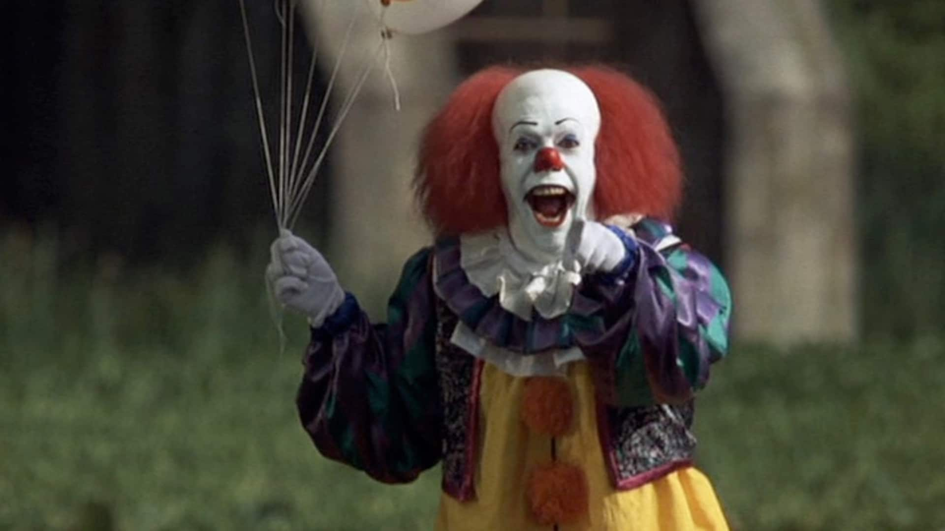 Monster: Tim Curry as Pennywise the Laughing Clown in Stephen King's It (1990) -- Tommy Lee Wallace.