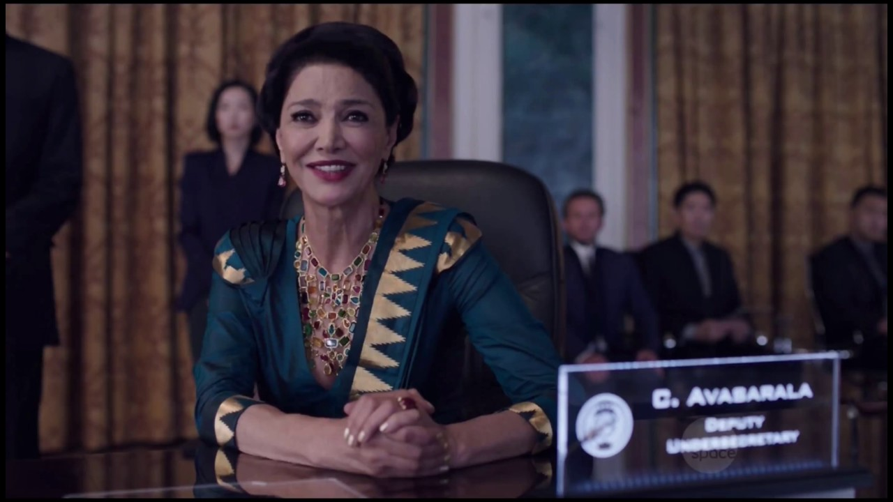 Shohreh Aghdashloo in The Expanse, our recipe for a great dinner