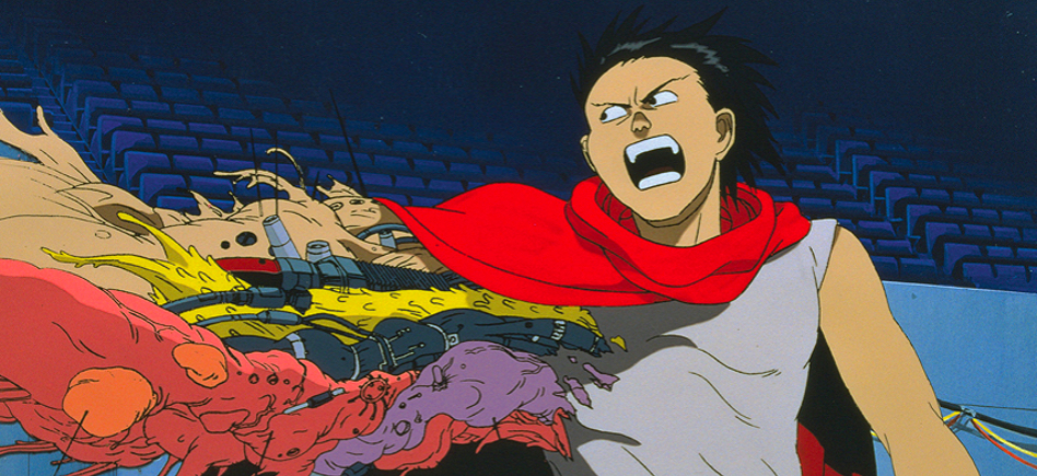 Tetsuo in his final hours losing control over his body. He's being engulfed by his powers.