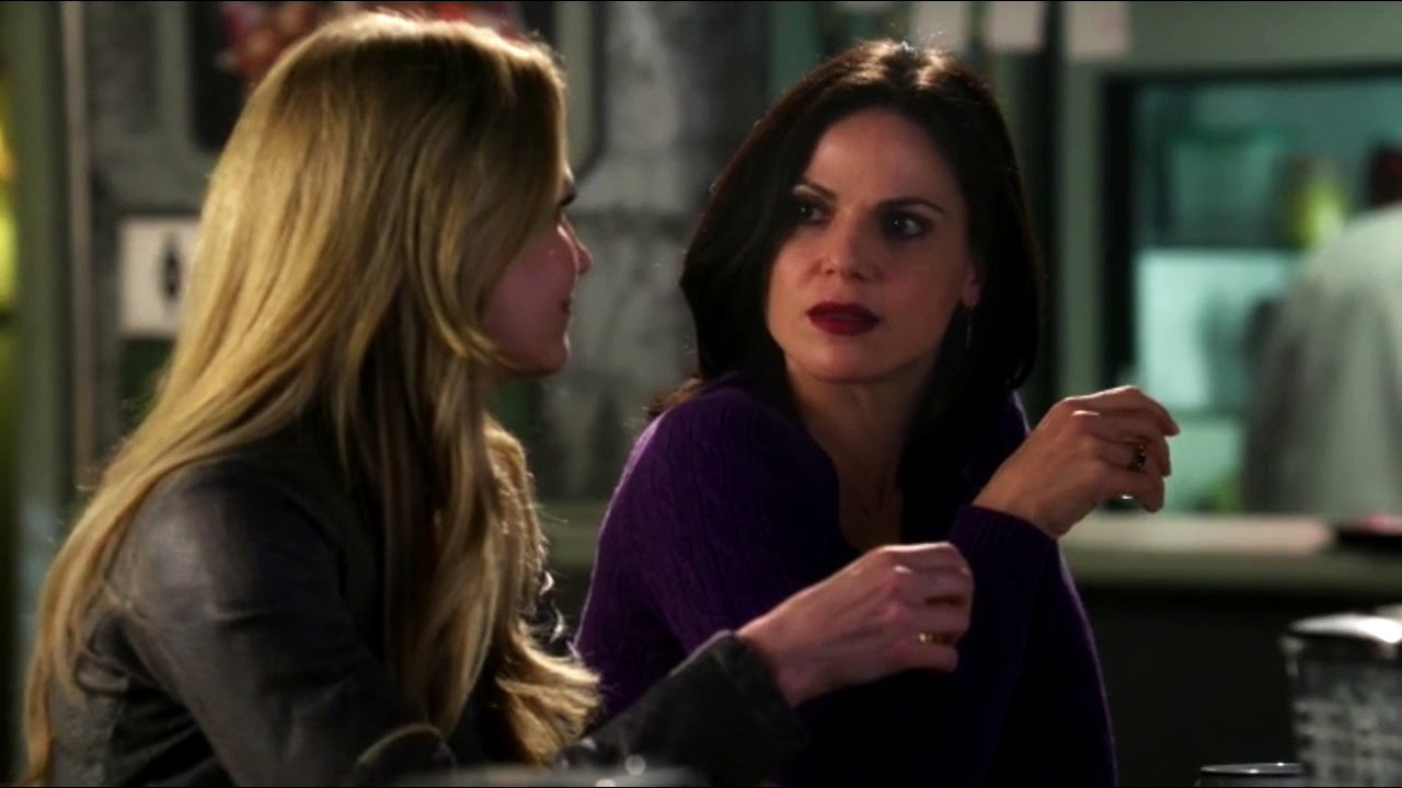 Jennifer Morrison and Lana Parilla in Once Upon a Time