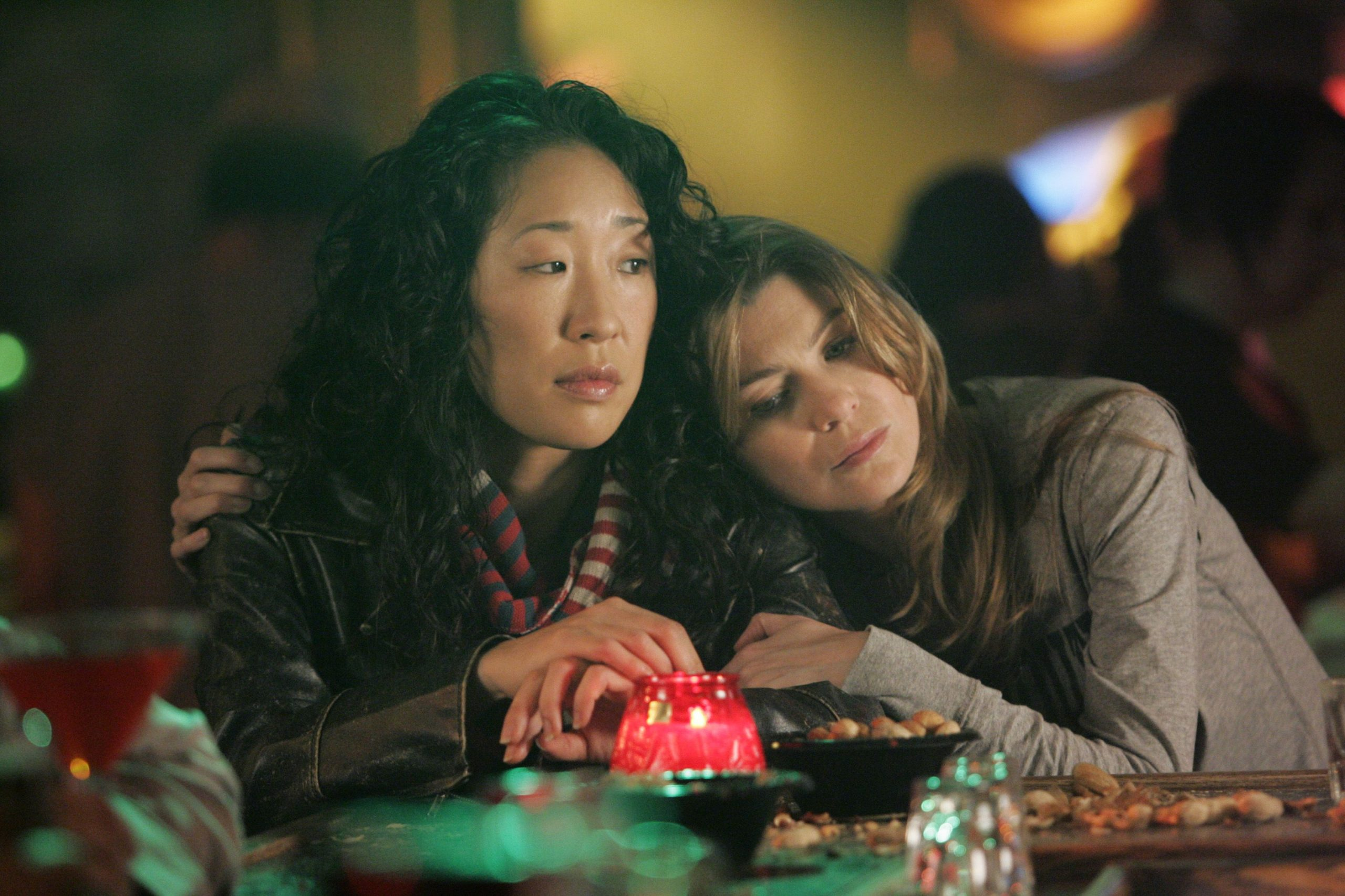 Christina and Meredith are the key friendship in Grey's Anatomy.