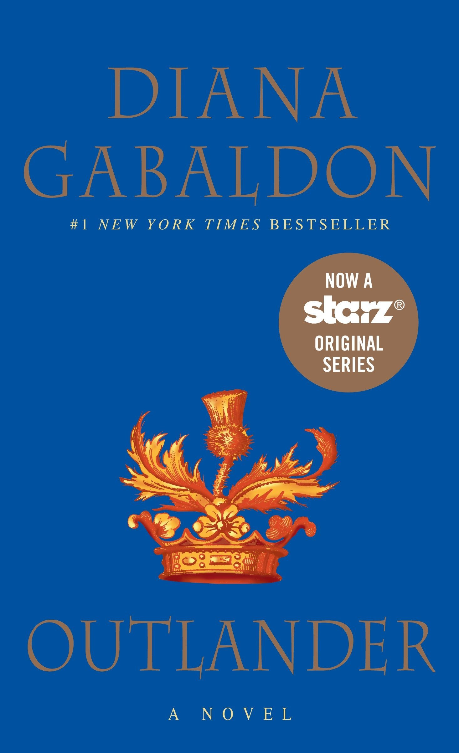 Diana Gabaldon's literary escape Outlander, a story about romance and time travel.
