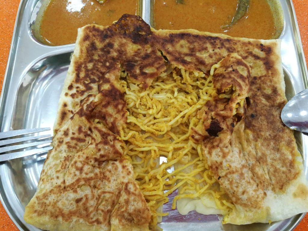 ABC Food Corner: Maggi Prata filling