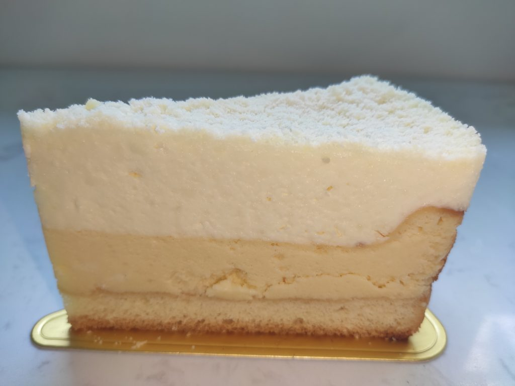 Baker's Brew: Dual Fromage Cheesecake