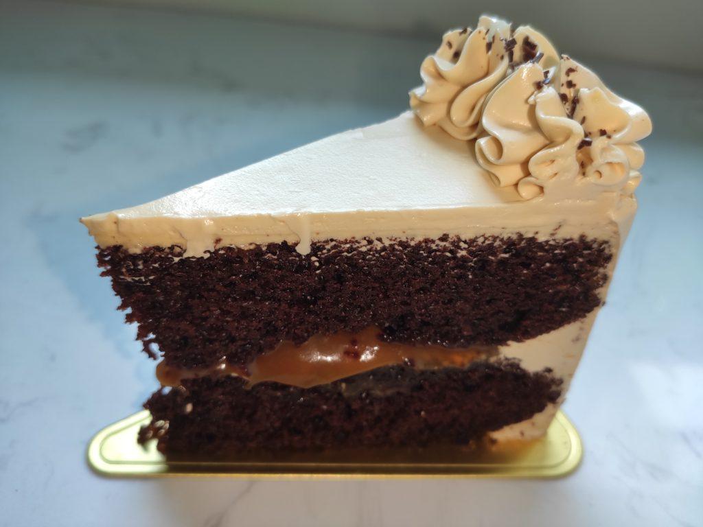 Baker's Brew: Salted Caramel Chocolate Cake