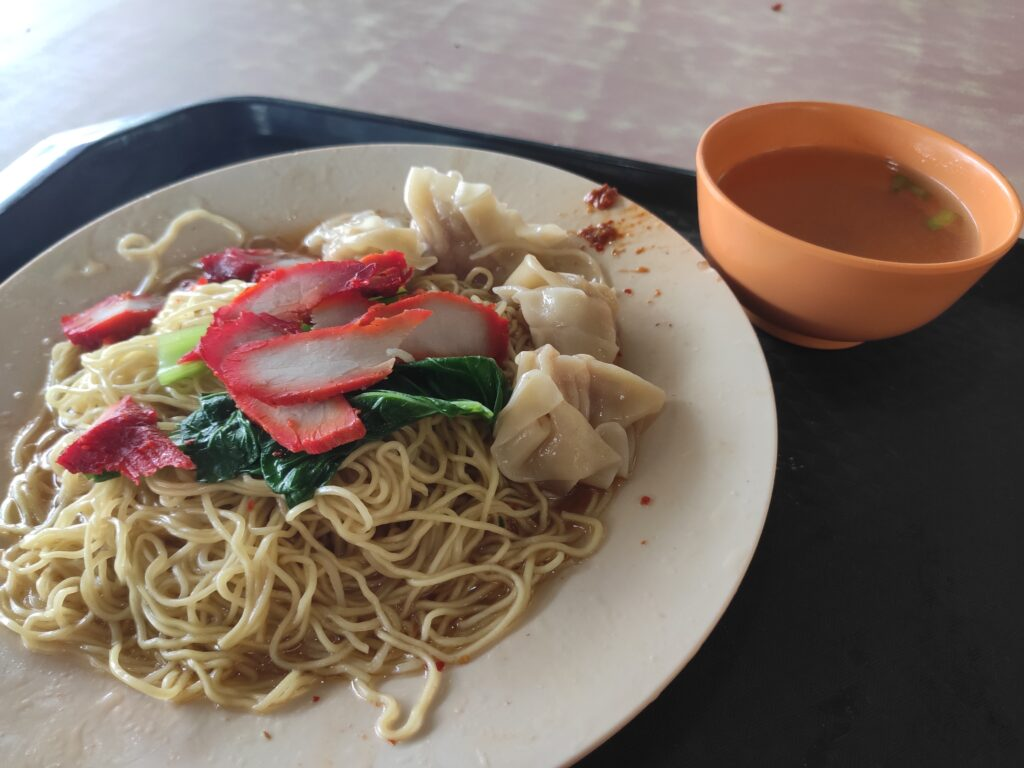 Dover Road Kai Kee Wanton Noodle with soup