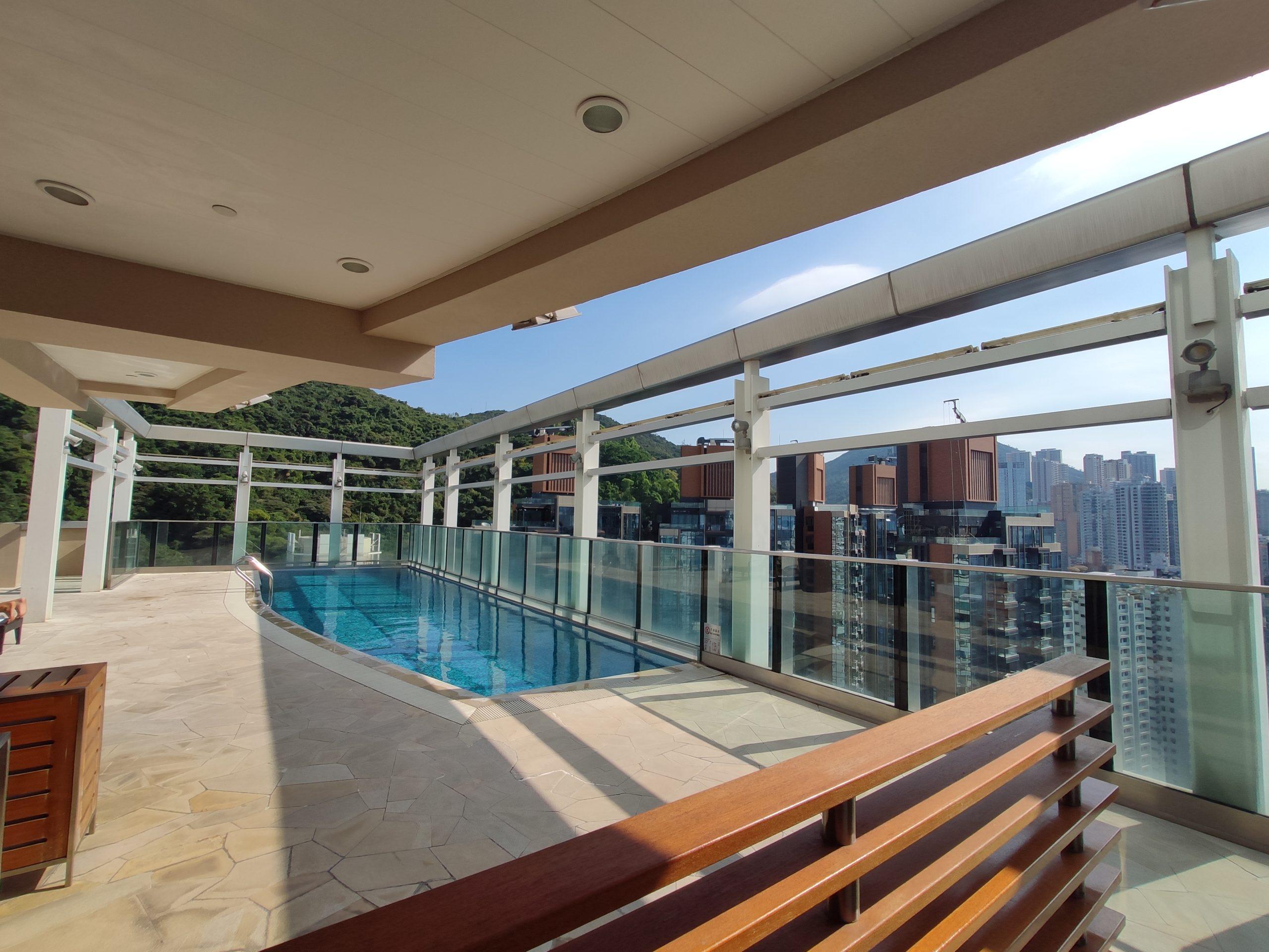 L'hotel Causeway Bay: Rooftop Swimming Pool