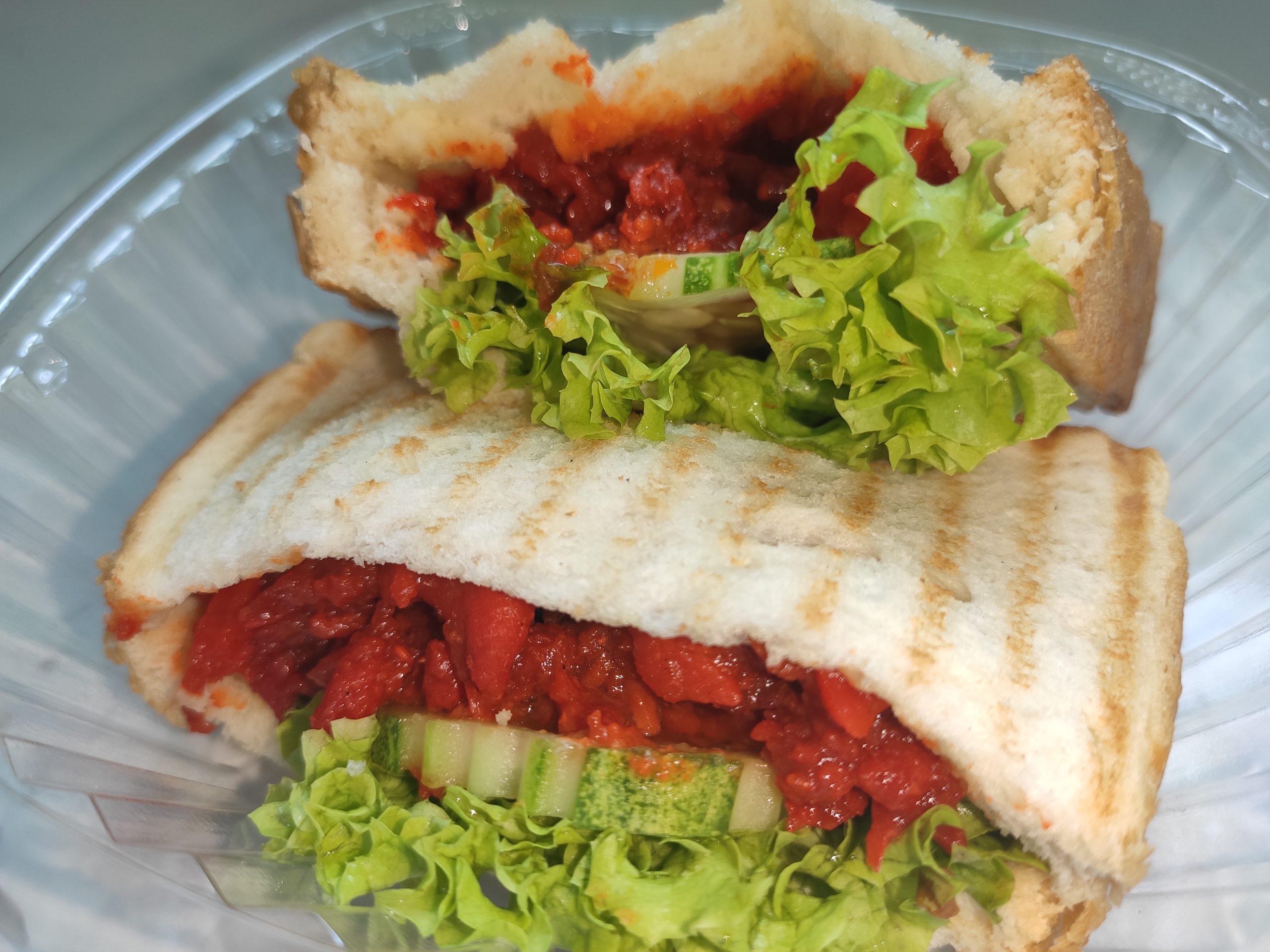 Ya Kun: Chicken Char Siew Toastwich