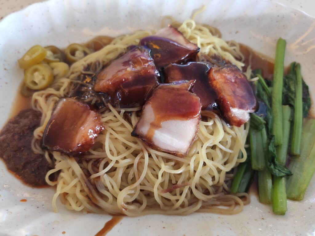 Tiong Bahru Lee Hong Kee Cantonese Roasted: Char Siew Noodles