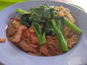 Yong Chun Wan Ton Noodle: Char Siew Noodles