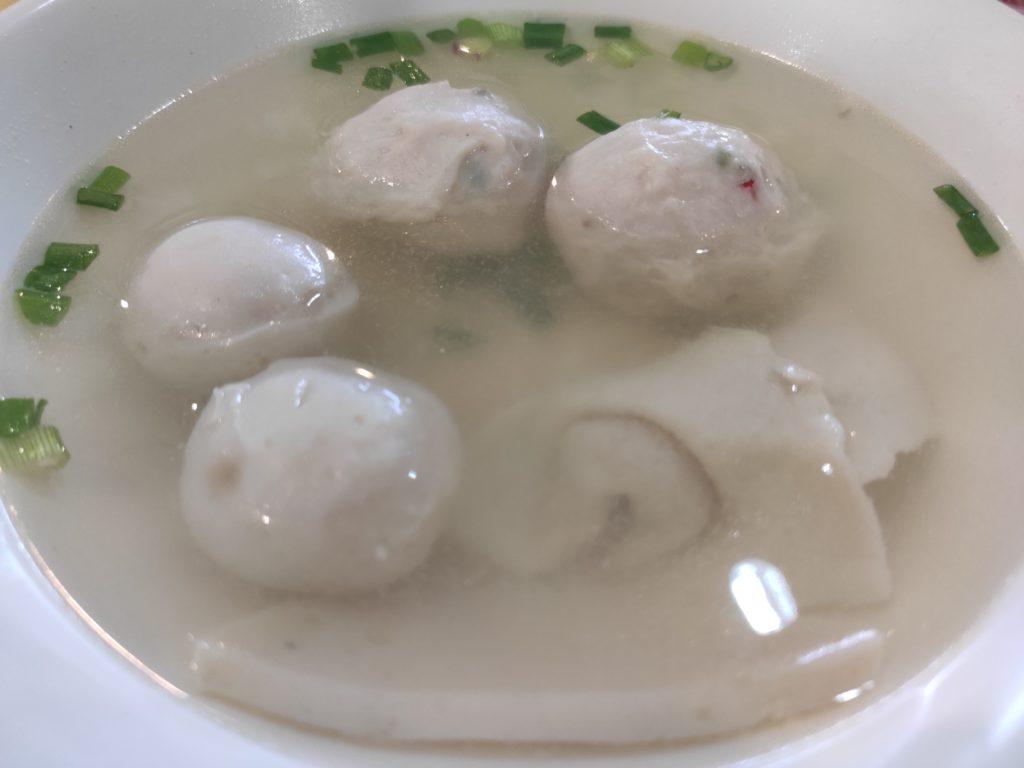 ABC Hawker Ah Hua Fish Ball Noodle: Fish Ball, Meat Ball, Fish Dumpling Soup