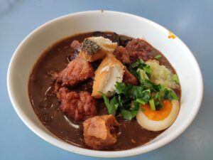 Amoy Street Lor Mee: Lor Mee with Extra Fish & Egg