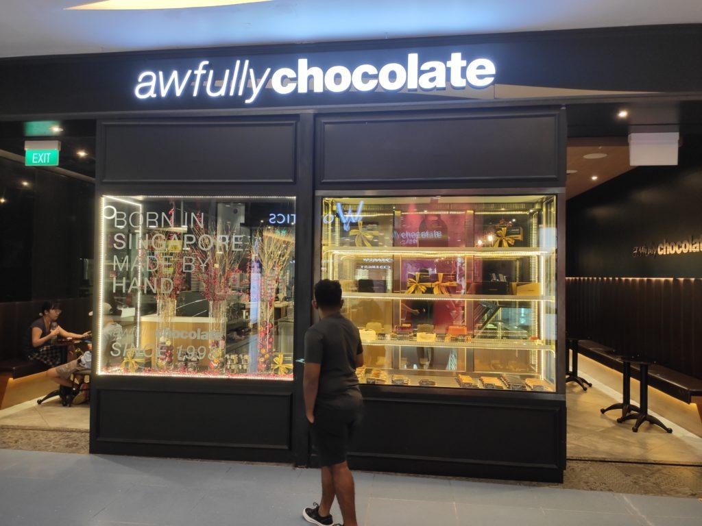 Awfully Chocolate Cafe: Vivocity