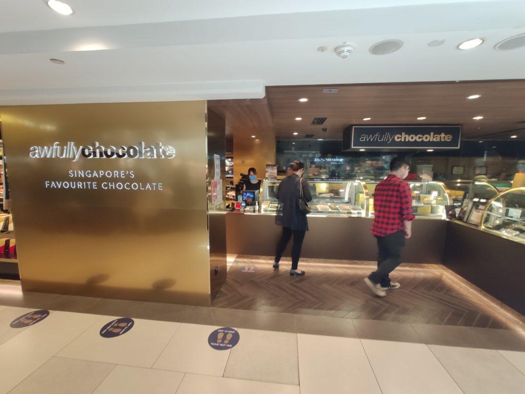 Awfully Chocolate: Raffles City