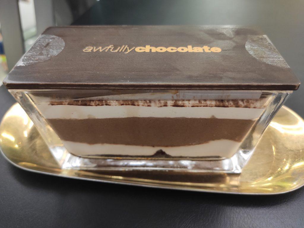 Awfully Chocolate: Tiramisu in Glass Container