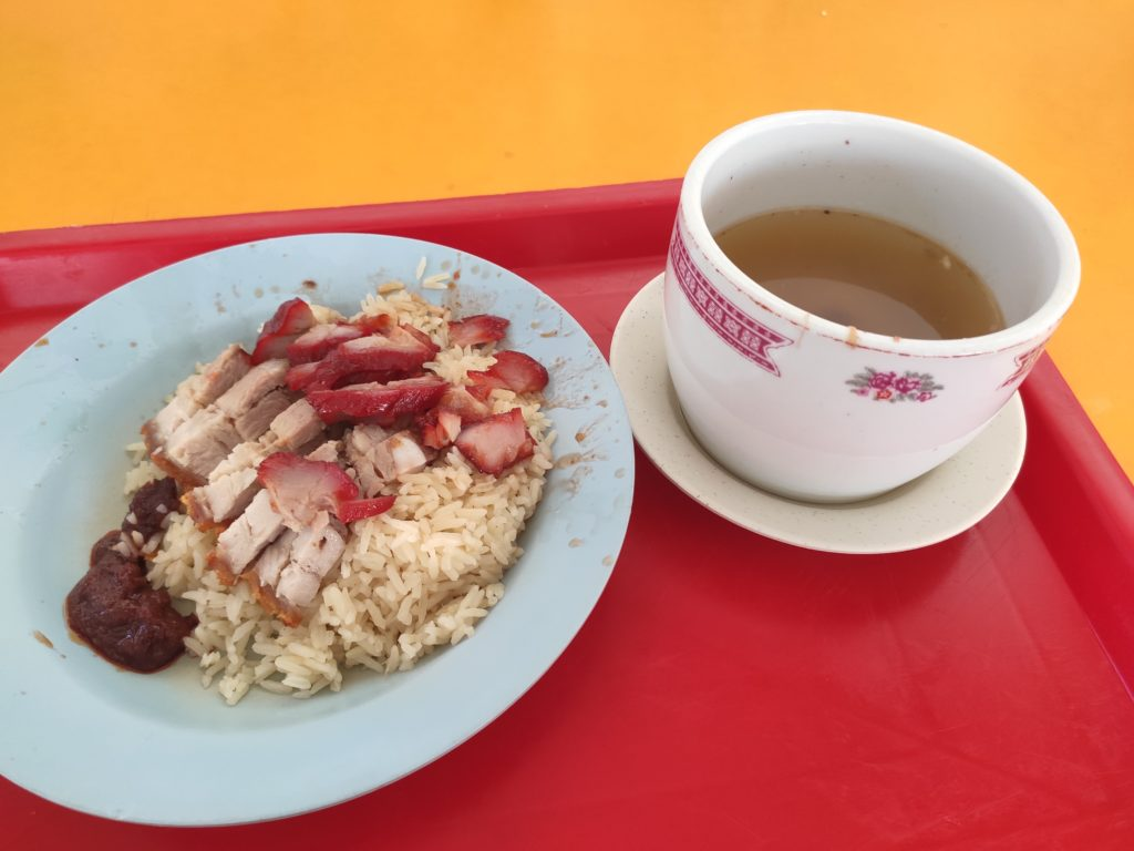 Ban Seng Roasted Meat Supplier: Char Siew, Roast Pork Rice with Soup