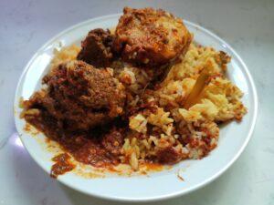 CT Authentic Nasi Padang: Beef Rendang, Begedil & Curry Rice