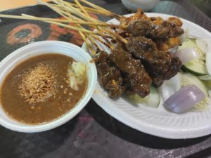 Charcoal Grilled: Assorted Satay with Sauce