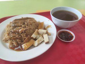 Cheng Ji Lu Ya Fan Mian: Braised Duck Rice with Soup