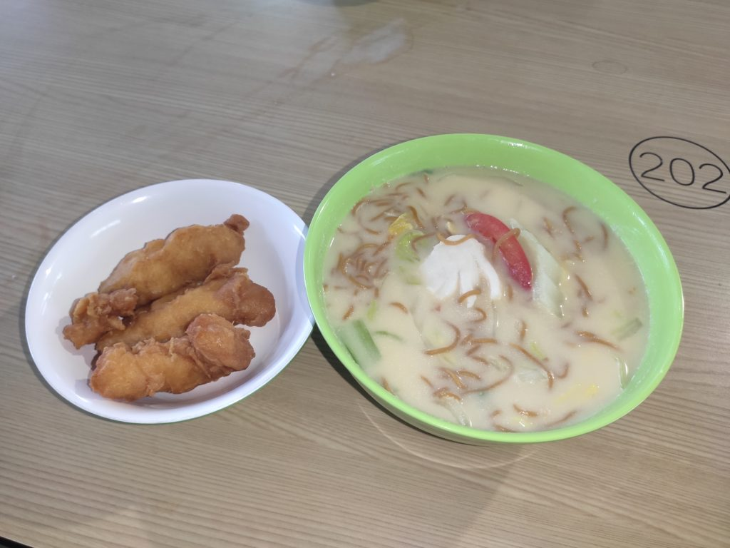 Creative Cafe Fish Soup: Double Fish Soup with Yee Mee
