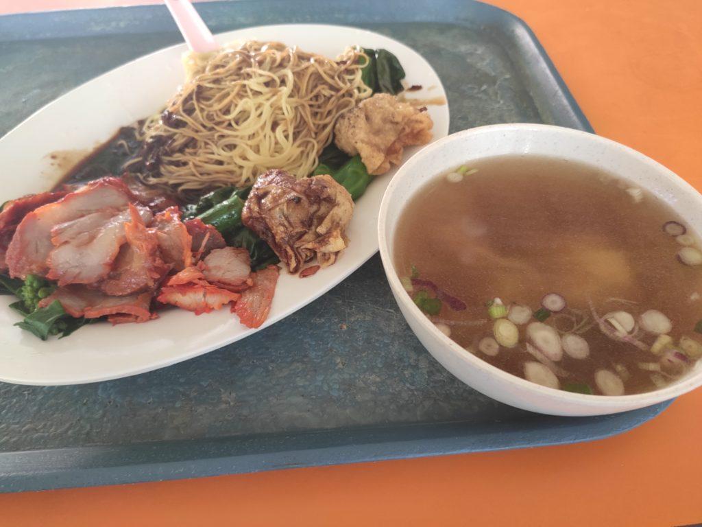 Depot Road Huang Ji Yun Tun Mian: Wanton Mee Set
