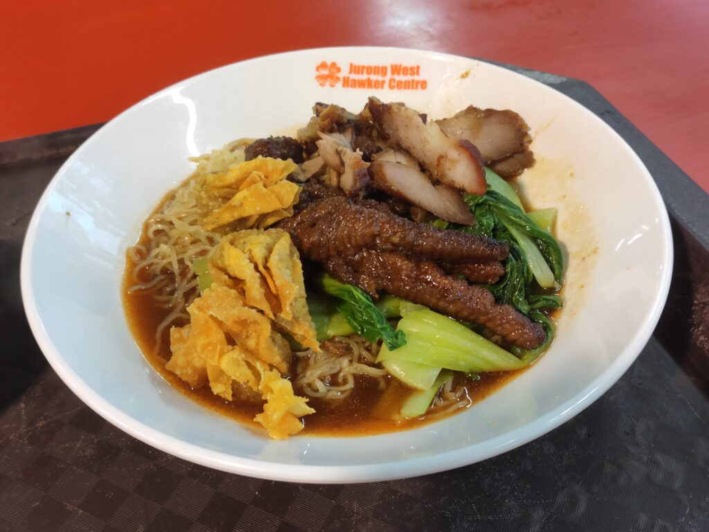 Dong Dong Wanton Noodles: Char Siew, Wanton, Chicken Feet Noodles