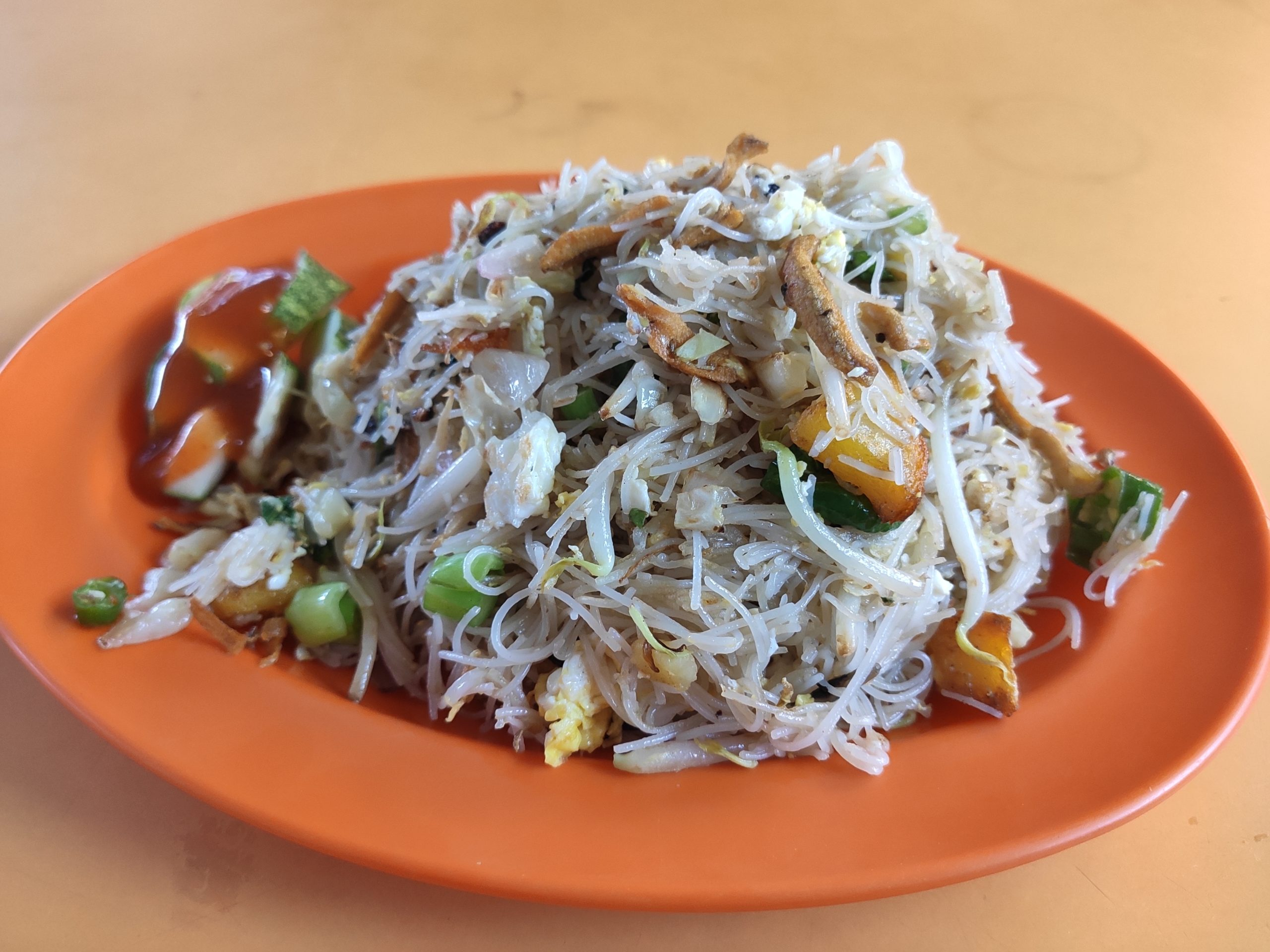 Fahzilaah Halal Food: Mee Hoon Goreng Ikan Bilis