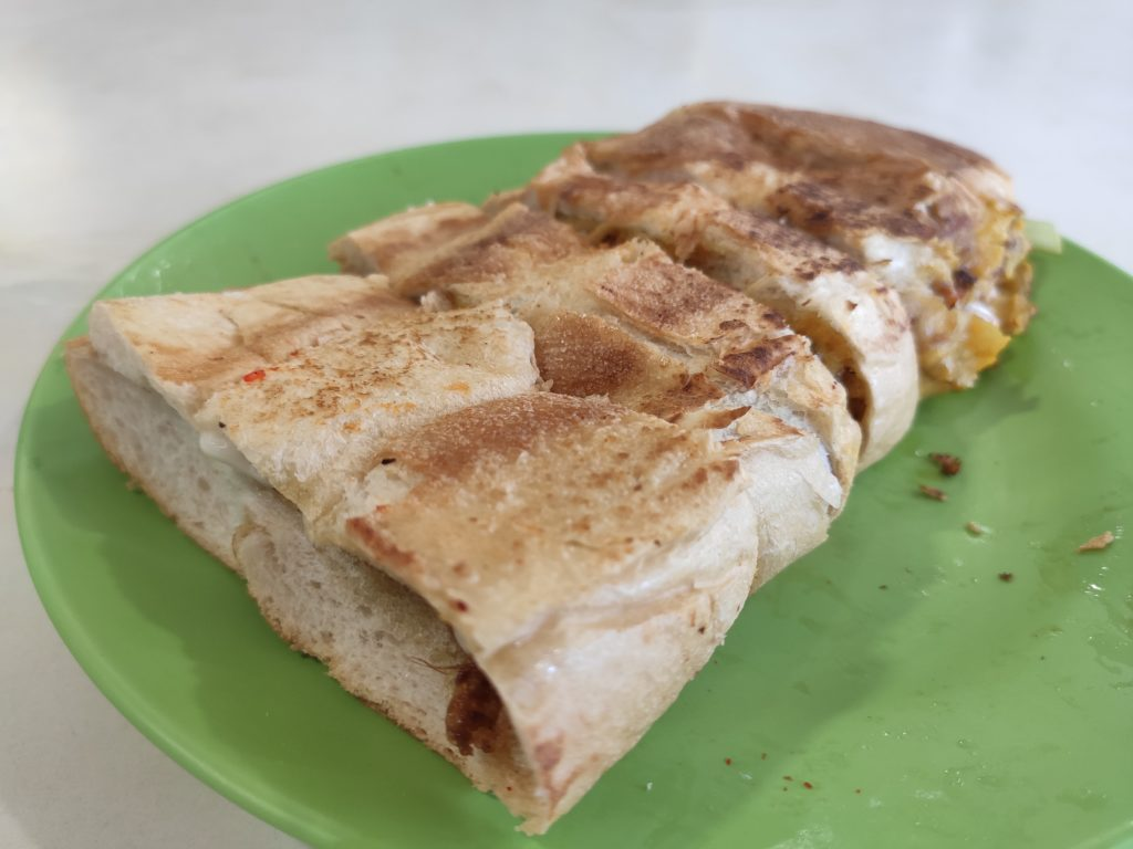 Fatimah Muslim Food: Roti John