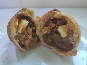 Fong's Dee Curry Puff: Curry Puff Inside