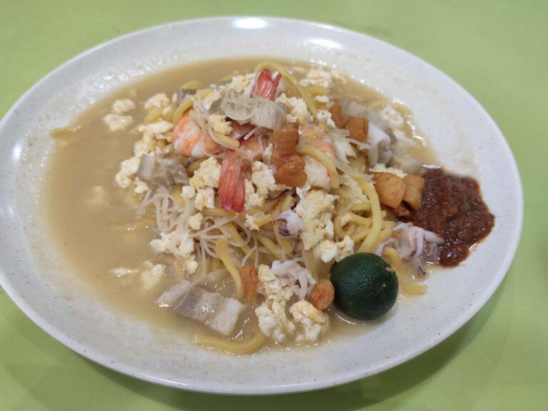 Fried Hokkien Mee - Tanjong Pagar Plaza Food Centre