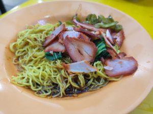Guangzhou Mian Shi Wanton Noodle: Char Siew Noodles