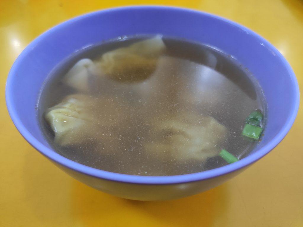 Guangzhou Mian Shi Wanton Noodle: Wanton Soup