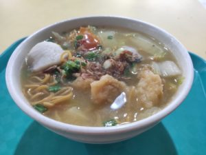 Hai Chew Fish Soup: Mixed Fish Soup with Yee Mee
