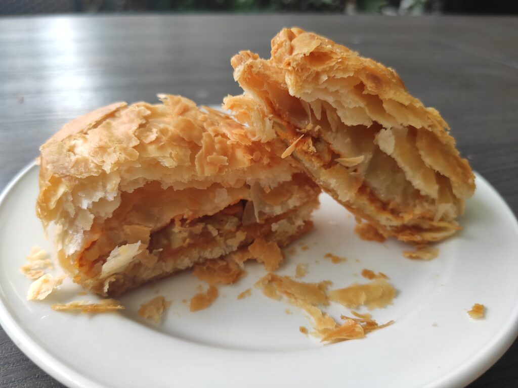 Han's: Chicken Curry Puff Filling