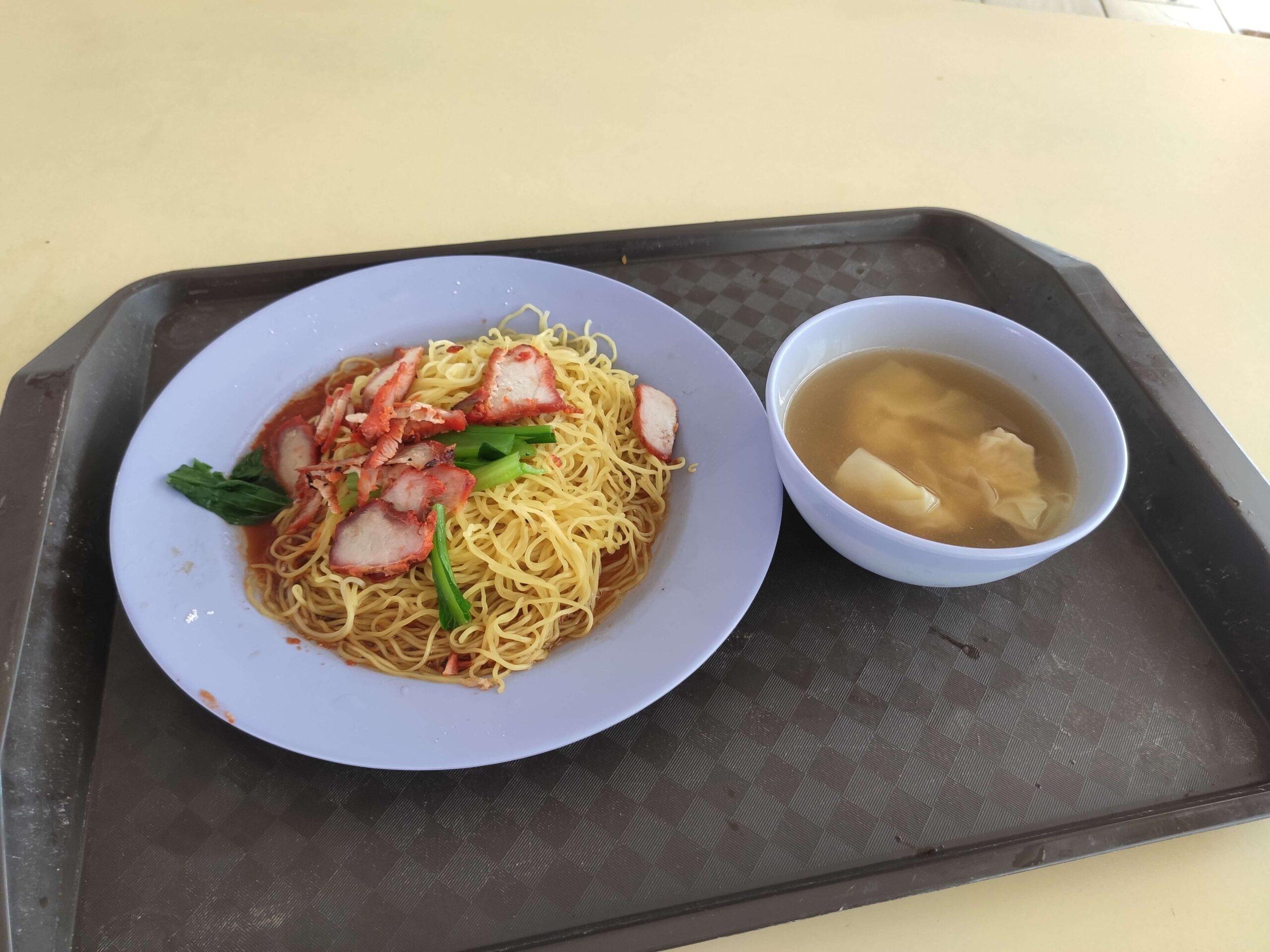 Hong Ji Mian Shi Jia: Wanton Mee with Soup