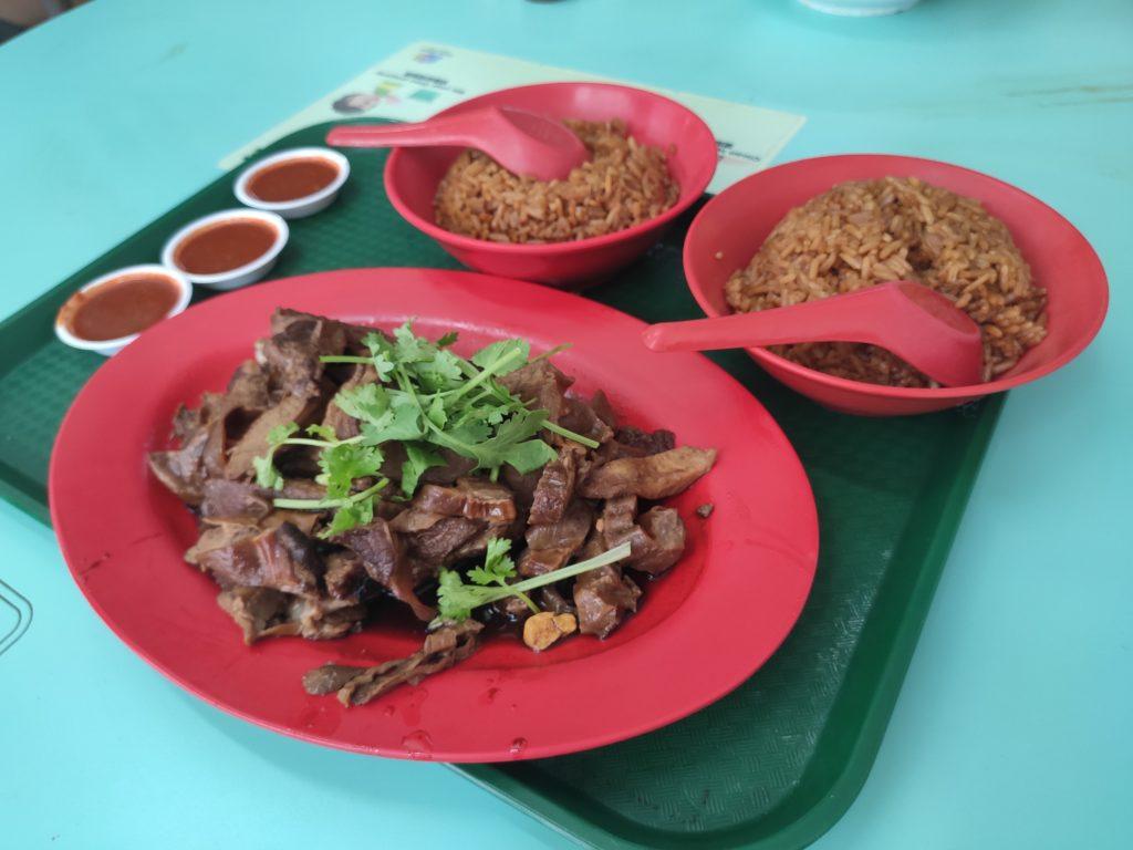 Hwee Kee: Pork Ribs, Pork Shoulder, Yam Rice & Chilli